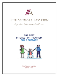 The Best Interest Of The Child: Child Custody