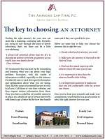 The KEY to Choosing an Attorney