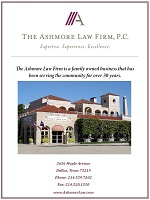 About Us: The Ashmore Law Firm
